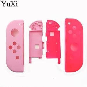 Image 5 - YuXi ل نينتندو التبديل NS الفرح كون استبدال الإسكان شل غطاء ل NX JoyCons غطاء وحافظة لذراع التحكم الضوء الأرجواني الوردي الأزرق