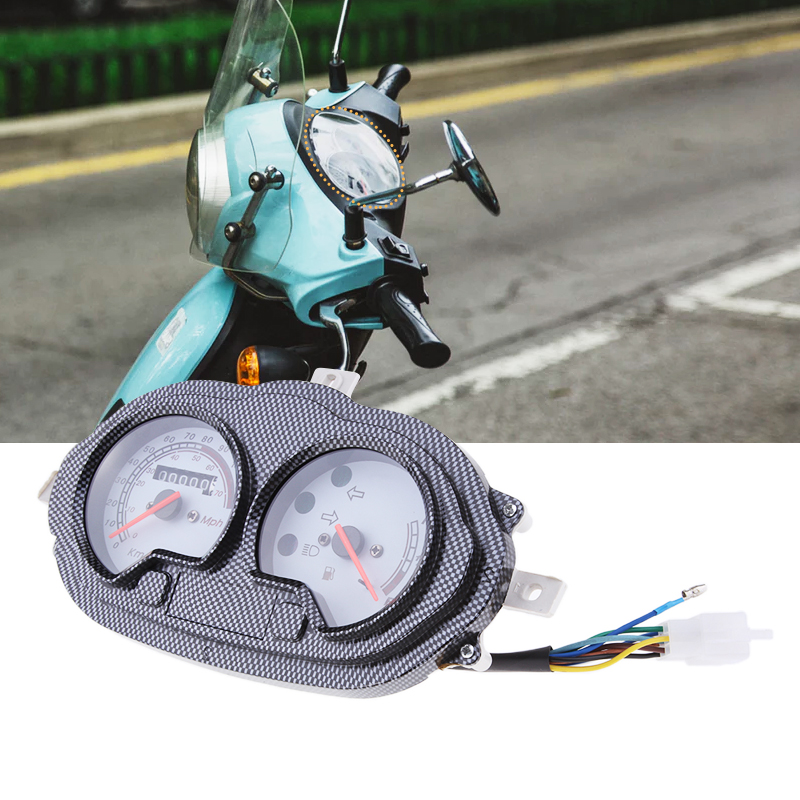 ATV Scooter Speedometer/Gas Gauge/Battery Level Gauge Assembly Mph & Kph For B05/08 CPI Popcoro Hussar Keeway Focus F-ACT Quad