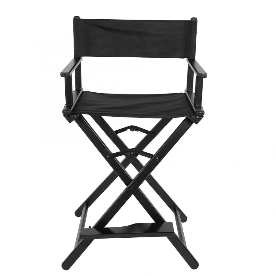 Professional Folding Aluminum Alloy Makeup Artist Directors Face Painters Chair For Home Salon Folding Makeup Chair