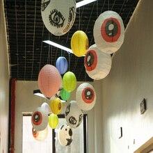 Colorful paper lanterns blank small lampshade DIY handmade decoration/ lampshade 8inch youoklight 30pcs lampshade