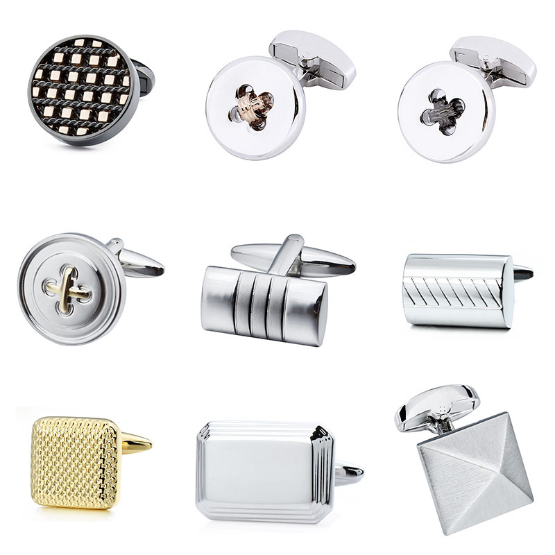 Wholesale Metal Cufflinks For Wedding Business Jewelry Without Box