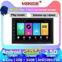 M400 reproductor Multimedia android 2 Din DVD del coche para Nissan almera qashqai Toyota Volkswagen Mazda Kia VW Peugeot LADA