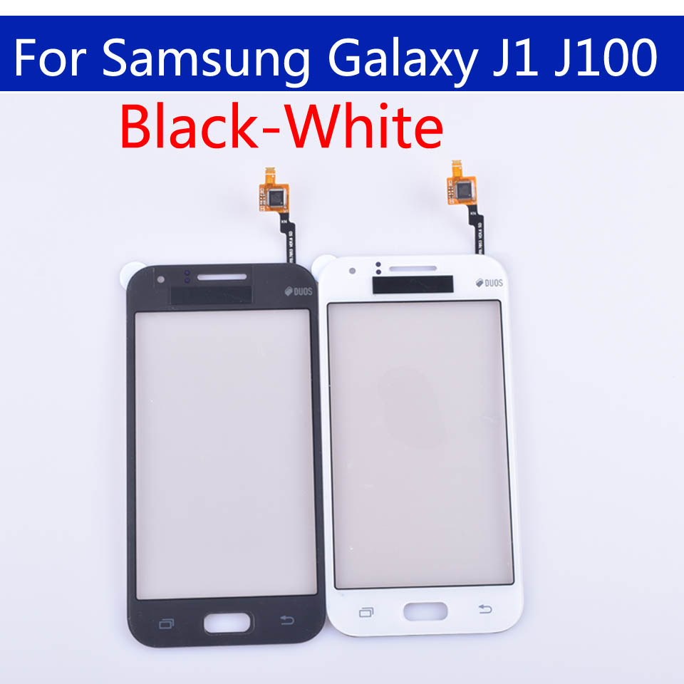 10pcs\lot For Samsung Galaxy Dous J1 <font><b>J100</b></font> J100F J100H <font><b>Touch</b></font> <font><b>Screen</b></font> panel Digitizer Glass Touchscreen NO LCD image