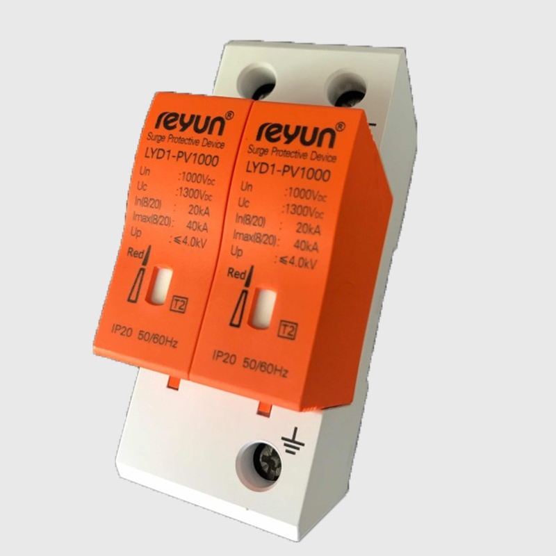 Dispositif de protection contre les surtensions 10KA ~ 20KA DC1000V 2P Parafoudre basse tension