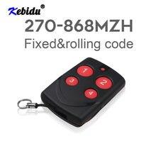 Kebidu clonagem automática universal duplicador de cópia controle remoto 315 433 868mhz multifrequência para portão da garagem porta controlador