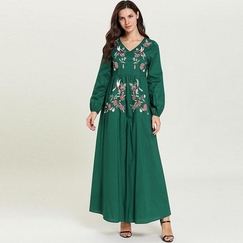 Abaya Kaftan Dubai Hijab Muslim Arabic Dress Turkey Islamic Vestidos Arabes Plus Size Pakistani Dress Robe Arabe Musulmane Omani
