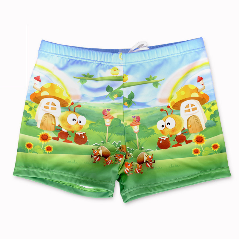 Shinysun CHILDREN'S Swimming Trunks Big Boy Boys' swimming trunks Boxer Beach Shorts Bubble Hot Spring Swimming Swimming Trunks