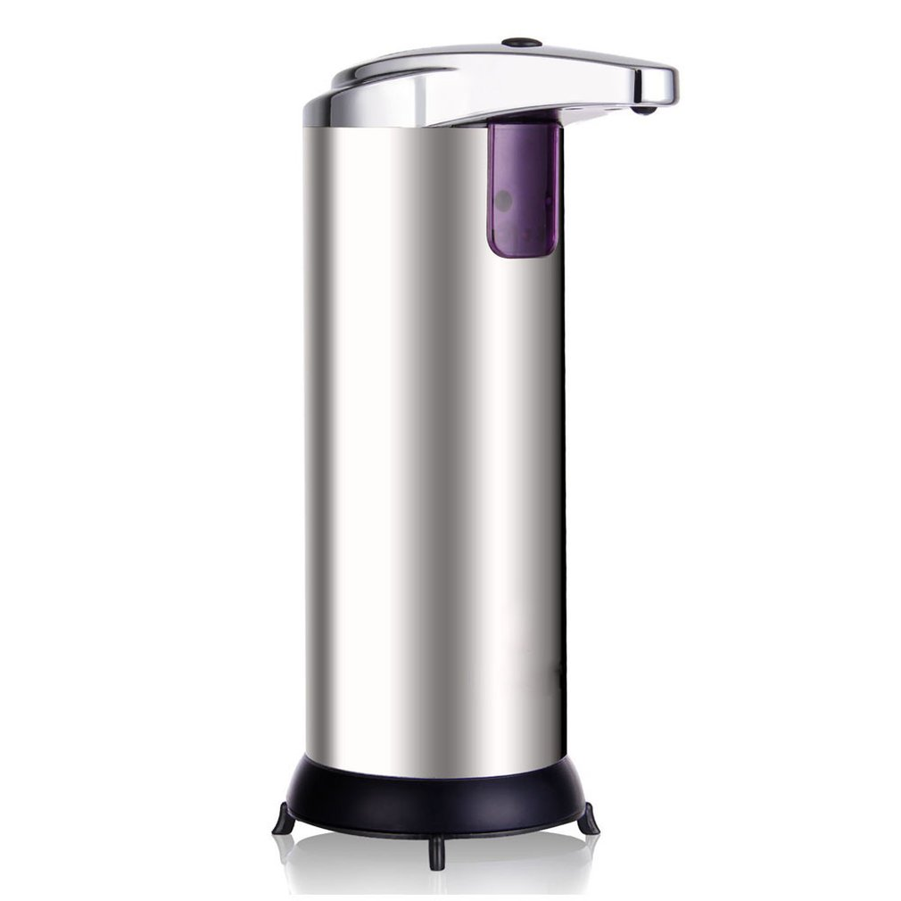 Stainless Steel Automatic Soap Dispenser Hand Sanitizer Bottle Household Bathroom Shower Gel Hotel Sanitary Table