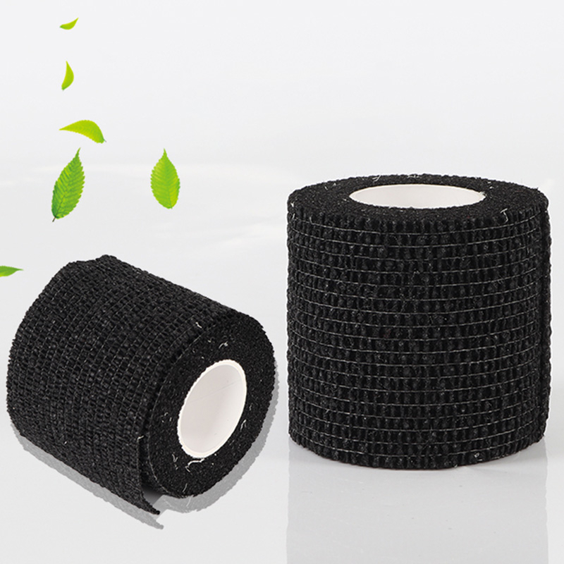 Sport Self Adhesive Elastic Bandage Wrap 5*450CM Muscle Joint Support Stretchable Breathable ThickFor Pads Finger Palm Shoulder