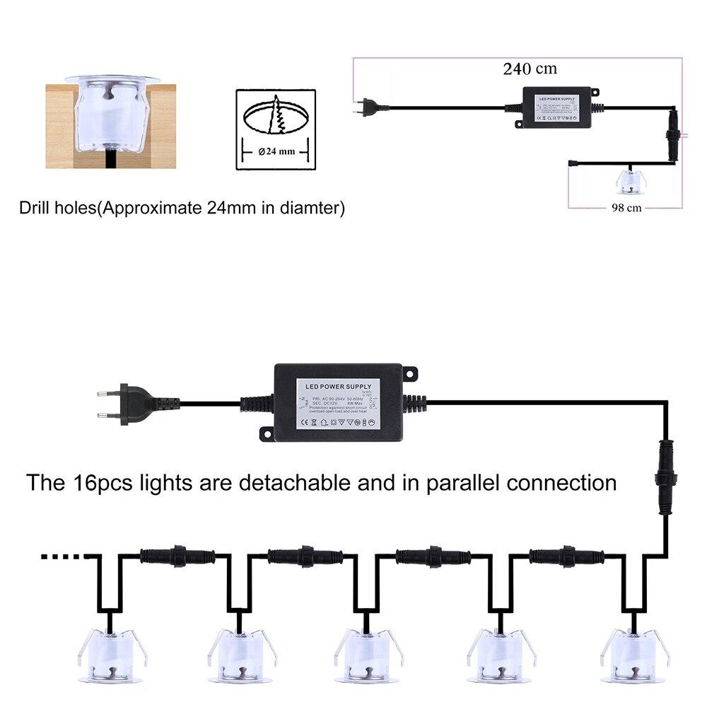 deck luz resistência à água ip67 ao