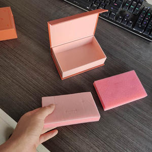 Cardboard Packaging-Box Magnet-Gift Embossing-Logo Custom Wholesale with 1000pcs/Lot