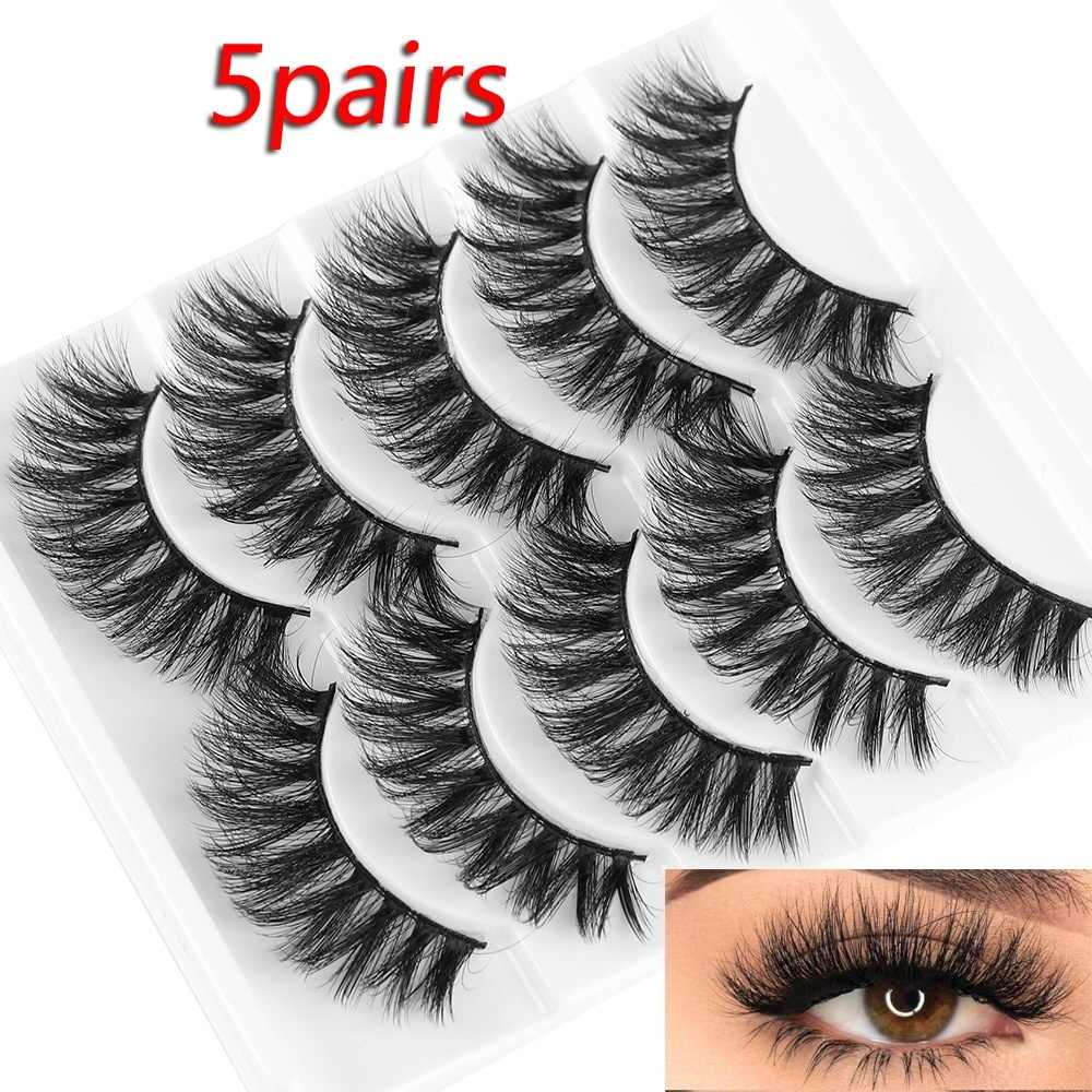 5 Pairs Multi-layer Eyelashes