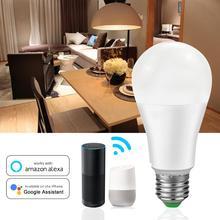 Wi-Fi/умная лампа Bluetooth App Управление E27 база RGBW/RGBWW светодиодный светильник для домашнего декора приложение Smart Life 110V 220V прикроватный светильник Диммер настенный светильник