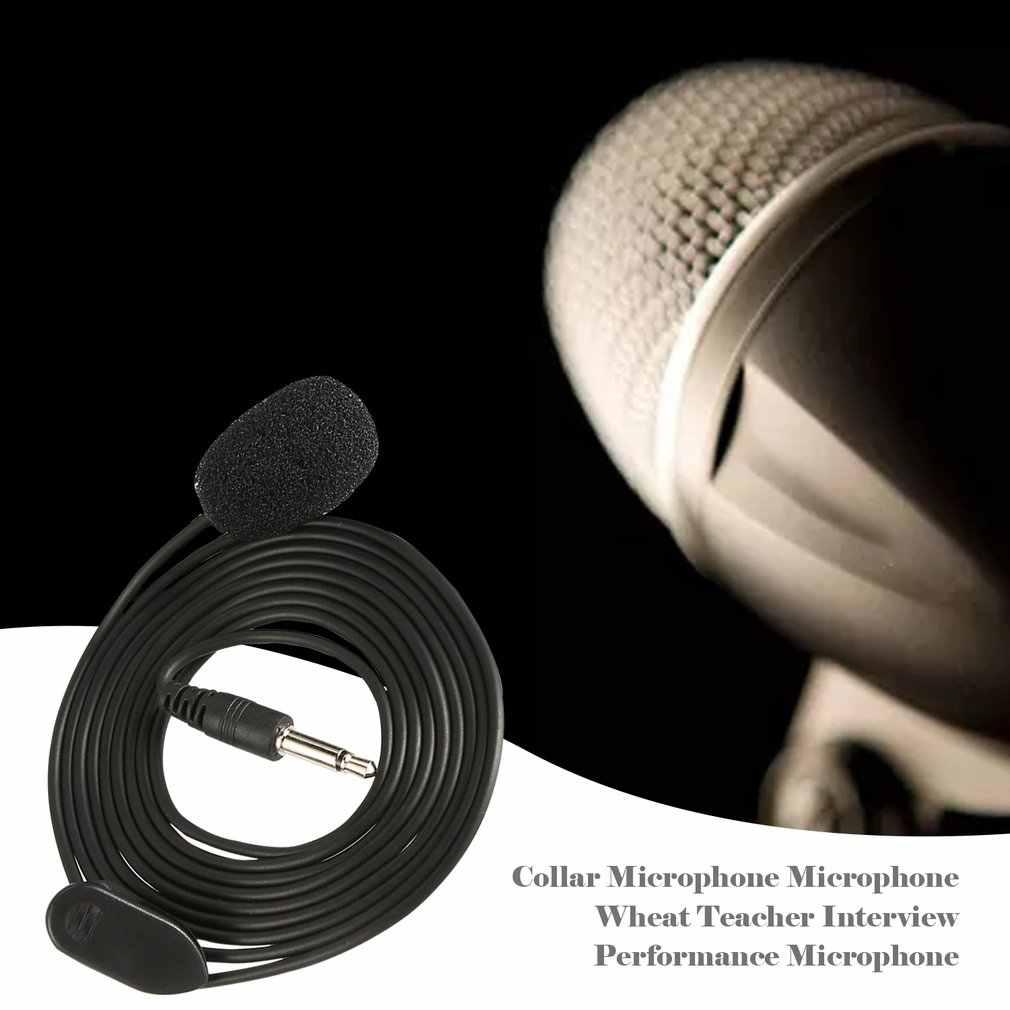 Collar Microphone Microphone Wheat Teacher Guide Interview Performance Speech Headset Microphone Microphone