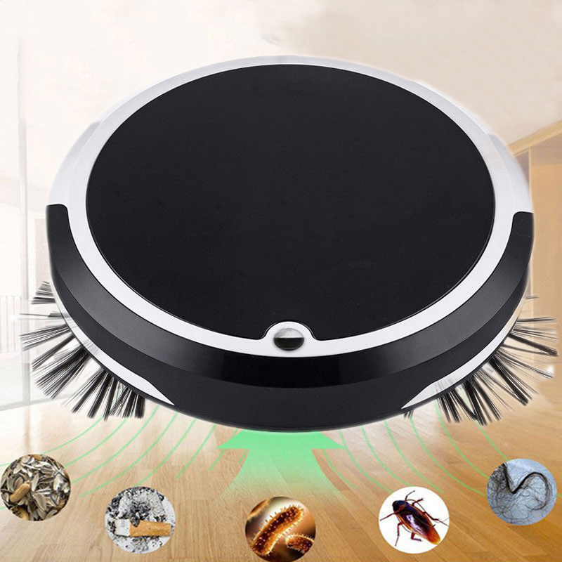 Робот-пылесос для дома 4 в 1 Перезаряжаемые робот для автоматической уборки умная уборка грязи пыли волос автоматический уборщикочиститель