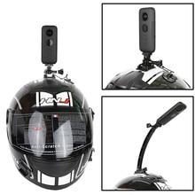 Держатель для мотоциклетного шлема Insta360 One X, кронштейн из алюминиевого сплава для xiaomi yi 4k, аксессуары для панорамной экшн камеры