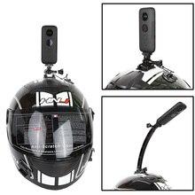 Motorrad Helm Top Mount Halter für Insta360 One X Aluminium legierung Arm für xiaomi yi 4k Action Panorama Kamera Zubehör
