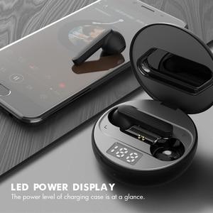 Image 3 - Draadloze Hoofdtelefoon Oortelefoon Bluetooth 5.0 Tws Hifi Headset Kleine Bass Oordopjes Met Power Display Touch Control Oor Detectie