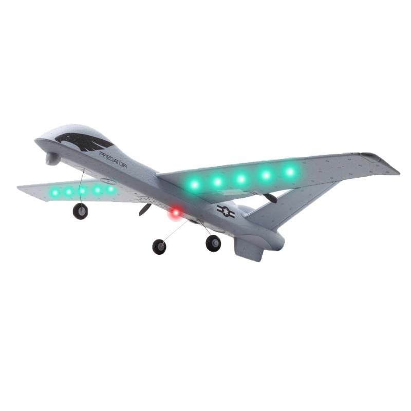 Avion RC, avion RC 2.4G 2ch, télécommande, avion RC, aile, mousse, lancement manuel, avions jouets 2