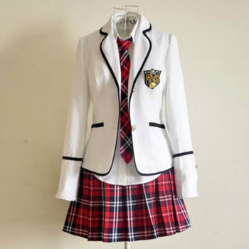 New modelsStudents long-sleeved school uniforms Japan and South Korea junior high boys girls students