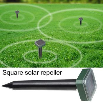 Solar Power Repeller Ultrasonic Mouse Repeller 400-1000(HZ) 1.2V 600MAH Garden Animal Gopher Insect Rodent Control image