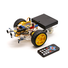 Smart Robot Motor Car Kit Avoidance Tracking 2WD,Ultrasonic,IR Remote,for Arduino Diy Kit ,Robotics Learning