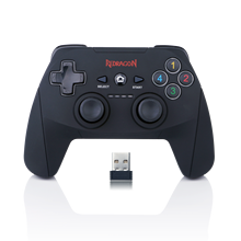 Redragon G808 Gamepad, PC Game Controller, Joystick with Dual Vibration, Harrow, for Windows PC,PS3,Playstation,Android,Xbox 360