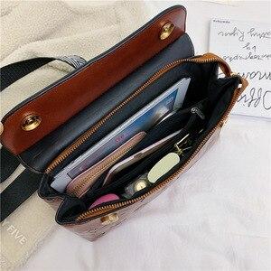 Image 4 - Soft Leather Women Messenger Bag Casual Shoulder Crossbody Bag Female Handbag Bolsa Feminina Girl Bag Louie Vuiton Bag 4942
