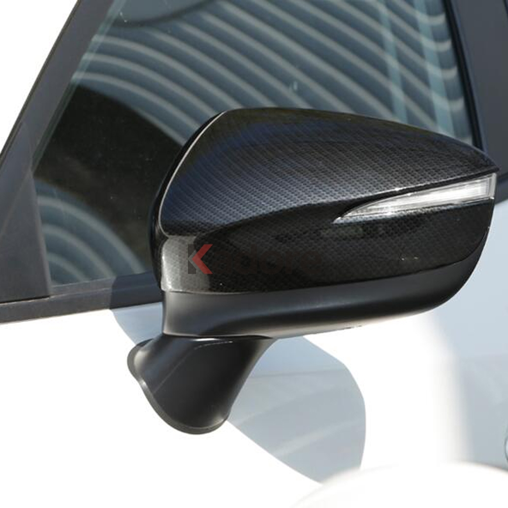For Mazda CX-3 CX3 2017-2018 ABS Chrome Rearview Side Mirror Cover Trim Strip