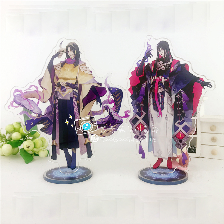 Anime Game Onmyoji Yamata No Orochi Onikiri Aoandou Acrylic Stand Figure Decoration Cosplay Desk Decor Gift 15cm