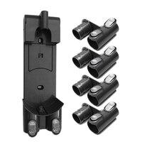 Montagem na parede handheld aspirador de pó suporte para dyson dc58 dc59 dc61 dc62 dc74 v6 Peças p/ aspirador de pó     -