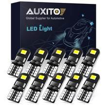 10 Uds W5W T10 Canbus LED del coche bombilla luz Interior del coche para Ford Mondeo MK4 MK1 MK3 Fiesta Focus 2 Explorer C Max F150 Accesorios