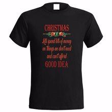 ANTI NOËL SLOGAN HAUTS POUR HOMMES T-Shirt CADEAU De Noël CONSUMÉRISME CAPITALISME CADEAU DE Noël Cadeaux T-Shirt