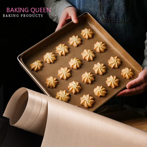 Reusable Baking Mat High Temperature Resistant Teflon Sheet Oven Microwave Grill Easy To Clean Heat-Resistant Pad  Non Stick Bak