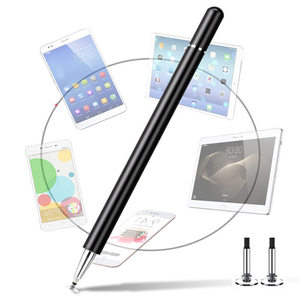 Metal active stylus pen capact