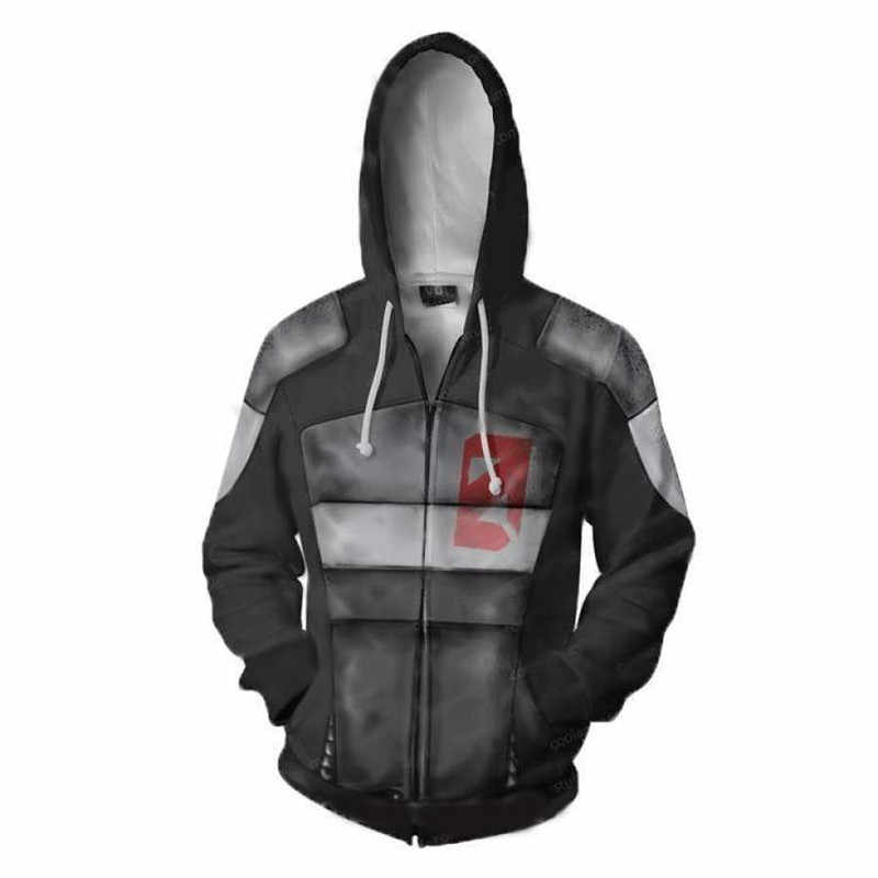 2019 Hot Vendas Dropshipping Borderlands Camisola Do Hoodie Para Homens Cospaly 3D Imprimir Hoodies Streetwear Casual Hoodies
