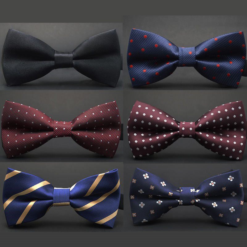 Men's Bowtie Formal Necktie Fashion Business Wedding Gifts For Men Male Dress Shirt Accessories Dot Bow Tie