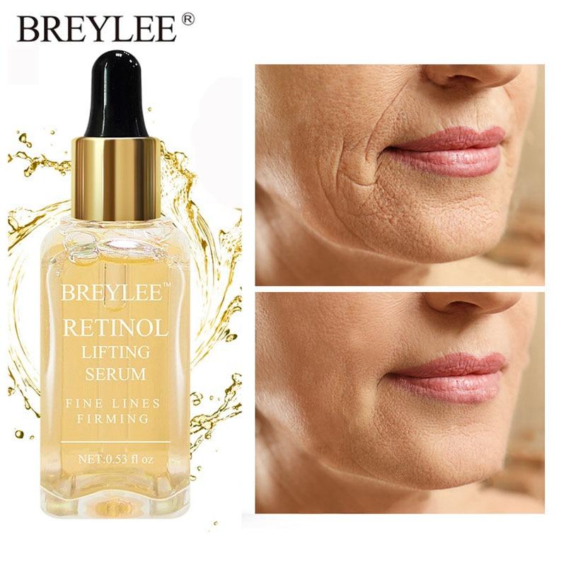 Сыворотка ретинол BREYLEE, Антивозрастная, подтягивающая, укрепляющая, коллагеновая эссенция для лица, удаление морщин, устранение тонких лини...