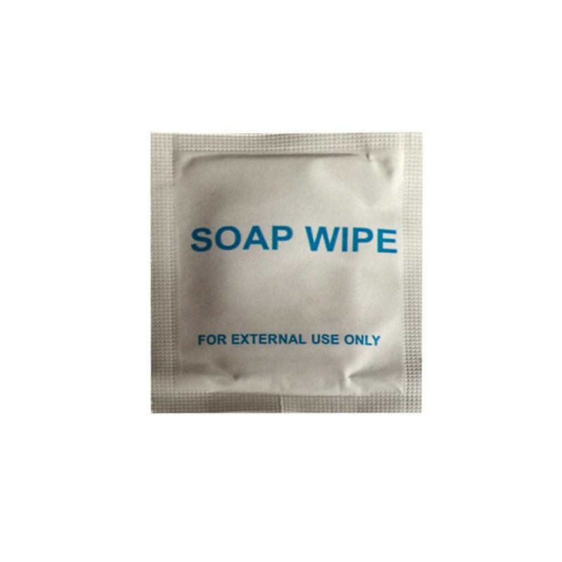 20*Wet Tissue Soap Wipe Cleaning Disposable Portable Outdoor Travel Wash Hands Wipes Travel Sheet For External Use NEW