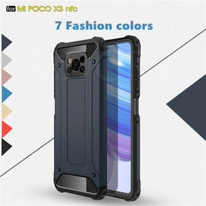 For Xiaomi Poco X3 Case Heavy Armor Hard Rubber Fundas Silicone Cover For Xiaomi Poco X3 NFC Cover For Poco F2 Pro Poco M2 Pro