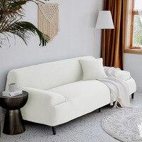 Verdicken Elastische Couch Lange Sofa Abdeckt Nicht-schlupf Startseite Möbel Protector Fall Stuhl Bank Abdeckung
