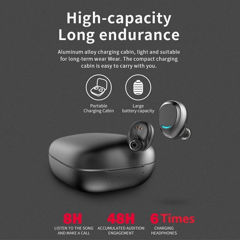 2019 U9 TWS Bluetooth 5.0 écouteur Sport mains libres casque sans fil écouteurs avec boîte de charge écouteurs pour Huawei wireless headphones ecouteur bluetooth sans fil