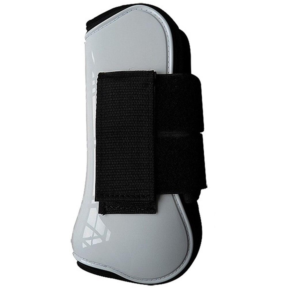 4pcs Sports Adjustable Shock Absorbing Equestrian Equipment Training Jumping Horse Tendon Boot Protective Gear Leg Guard Outdoor