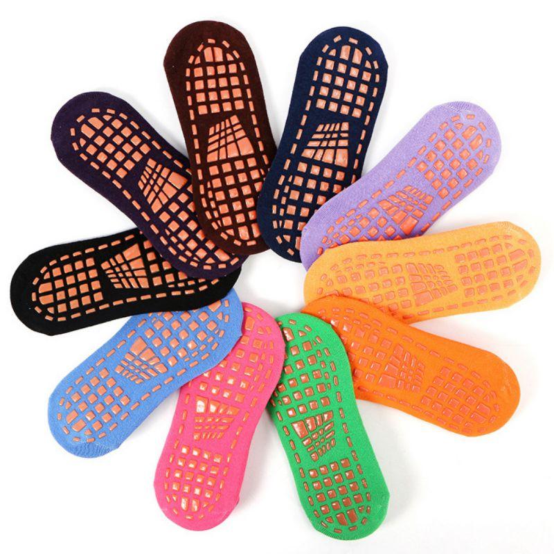 Wonderful! Anti-Slip Sticky Grippers Socks Multipurpose Pilates Ballet Barre Yoga Socks Durable Foot Massage Socks