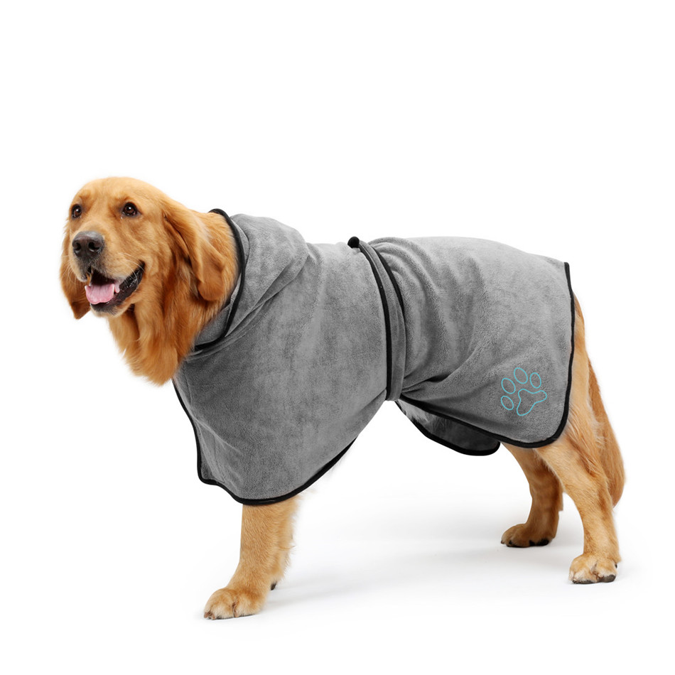 Dog Bathrobe (6)