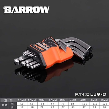 Barrow PC water cooling building tool Six Angle screwdriver set 8mm CLB8 image