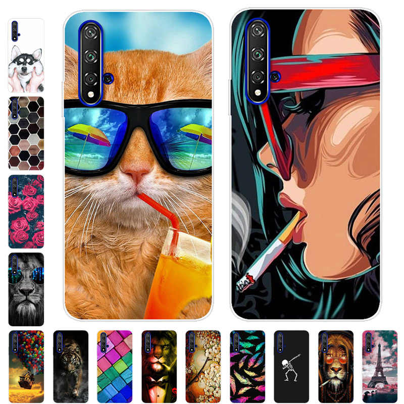 Case For Huawei Nova 5 5T Cover Silicone Phone Case For Huawei Nova 5 5i Pro Nova5  tpu Bumper Cases For Huawei Nova 5 T i Pro