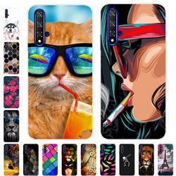 Case For Huawei Nova 5T Cover Silicone Phone Case For Huawei Nova 5T Back Cover For Huawei Nova 5T 5 T tpu Bumper Cases Shell