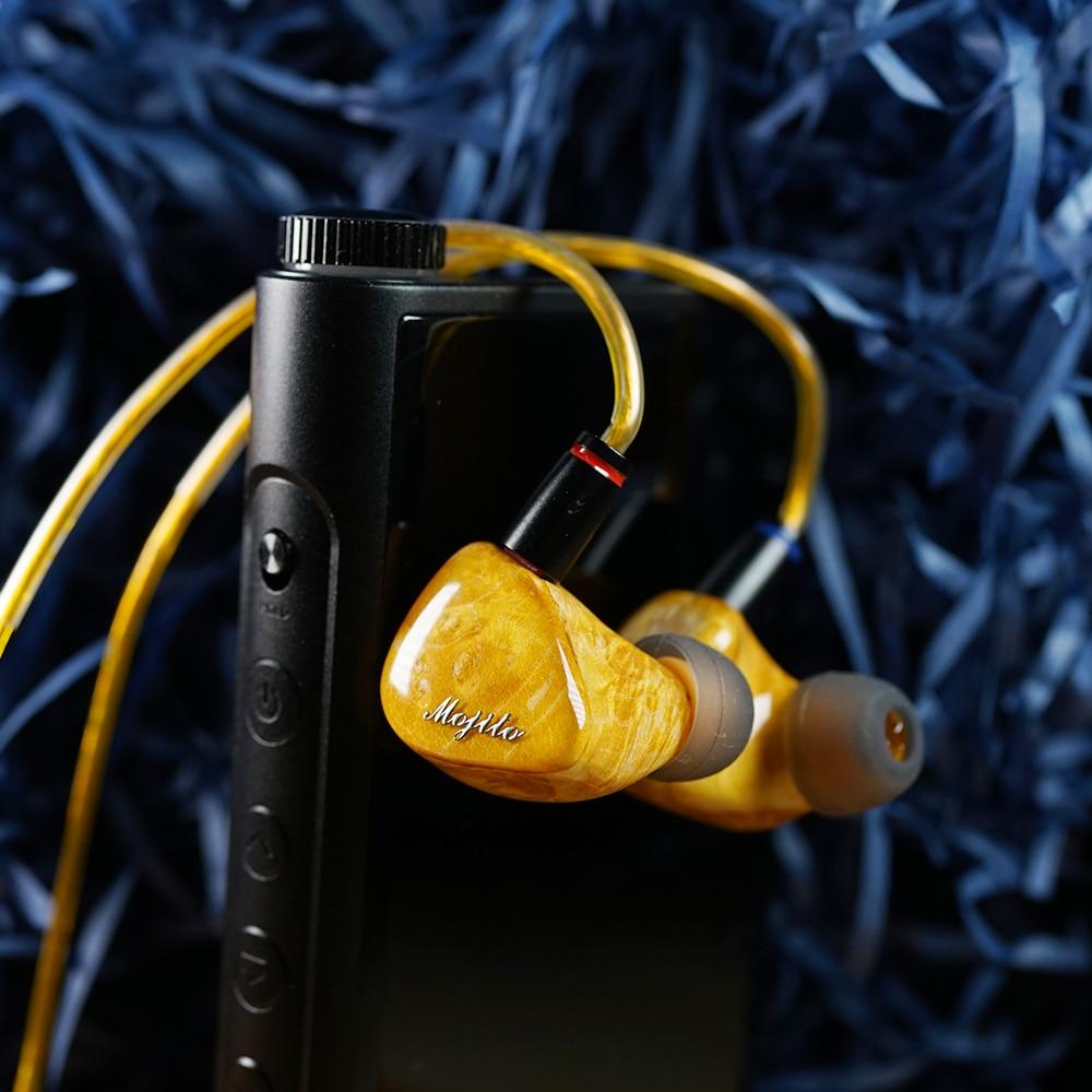 Image 3 - QOA Mojito 2 Sinon+4 knowles Balanced Armature Hybrid Drivers In Ear Monitor Earphone HIFI DJ Earbud 0.78mm Detachable cableEarphones & Headphones   -