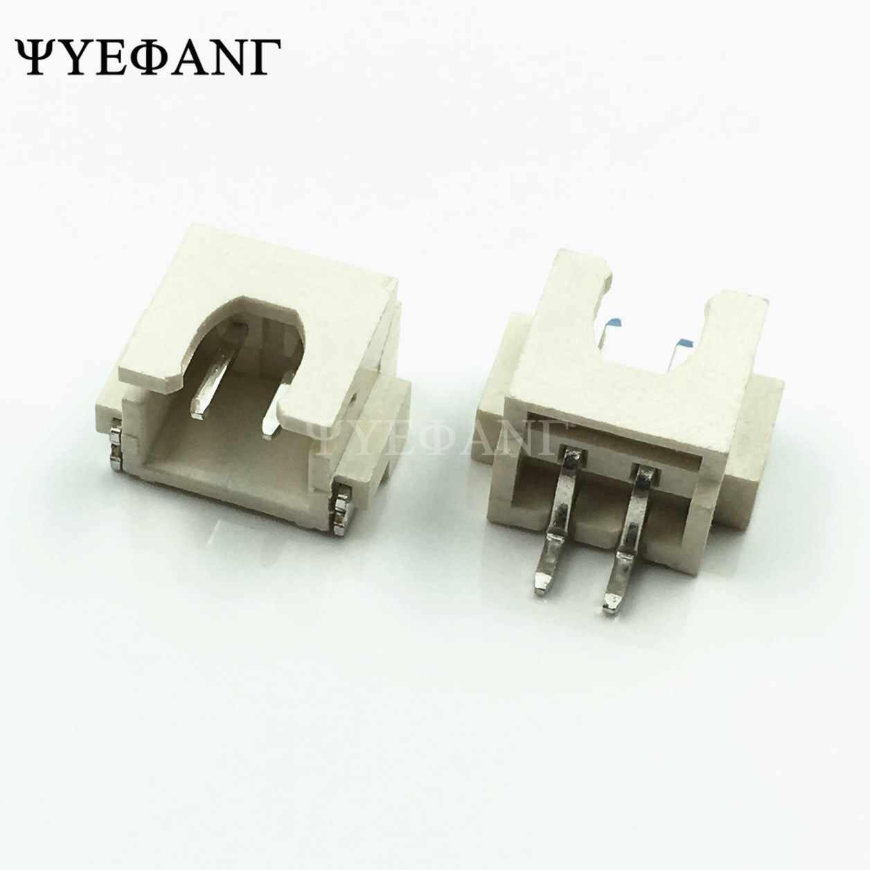 10 sztuk XH2.54 SMD SMT złącze kątowe 2.54MM PITCH mężczyzna głowica pinowa 2 P/3 P/4 P/5 P/6 P/8 P/dla płytka drukowana złącze taśmy led